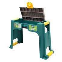 Zahradní stolička/klekátko, zelená