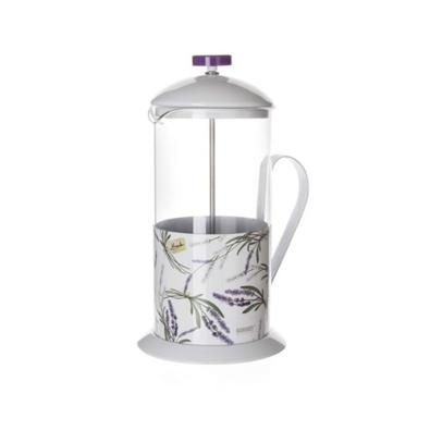 Banquet Kanvica na kávu Lavender 1 l, biela