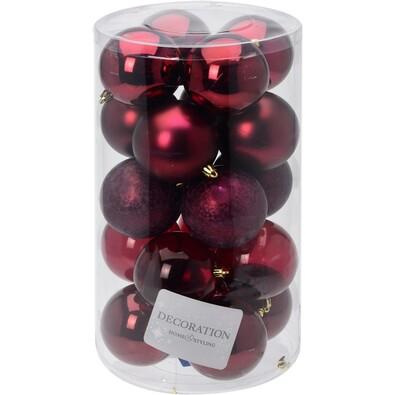 Bombki świąteczne Inverno, śr. 7 cm