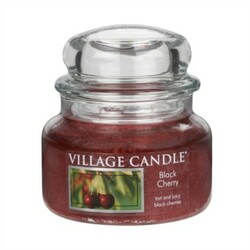 Village Candle Vonná svíčka Černá třešeň  - Black Cherry, 269 g