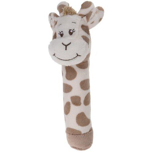 Koopman Detské plyšové pískatko Žirafa, 16 cm