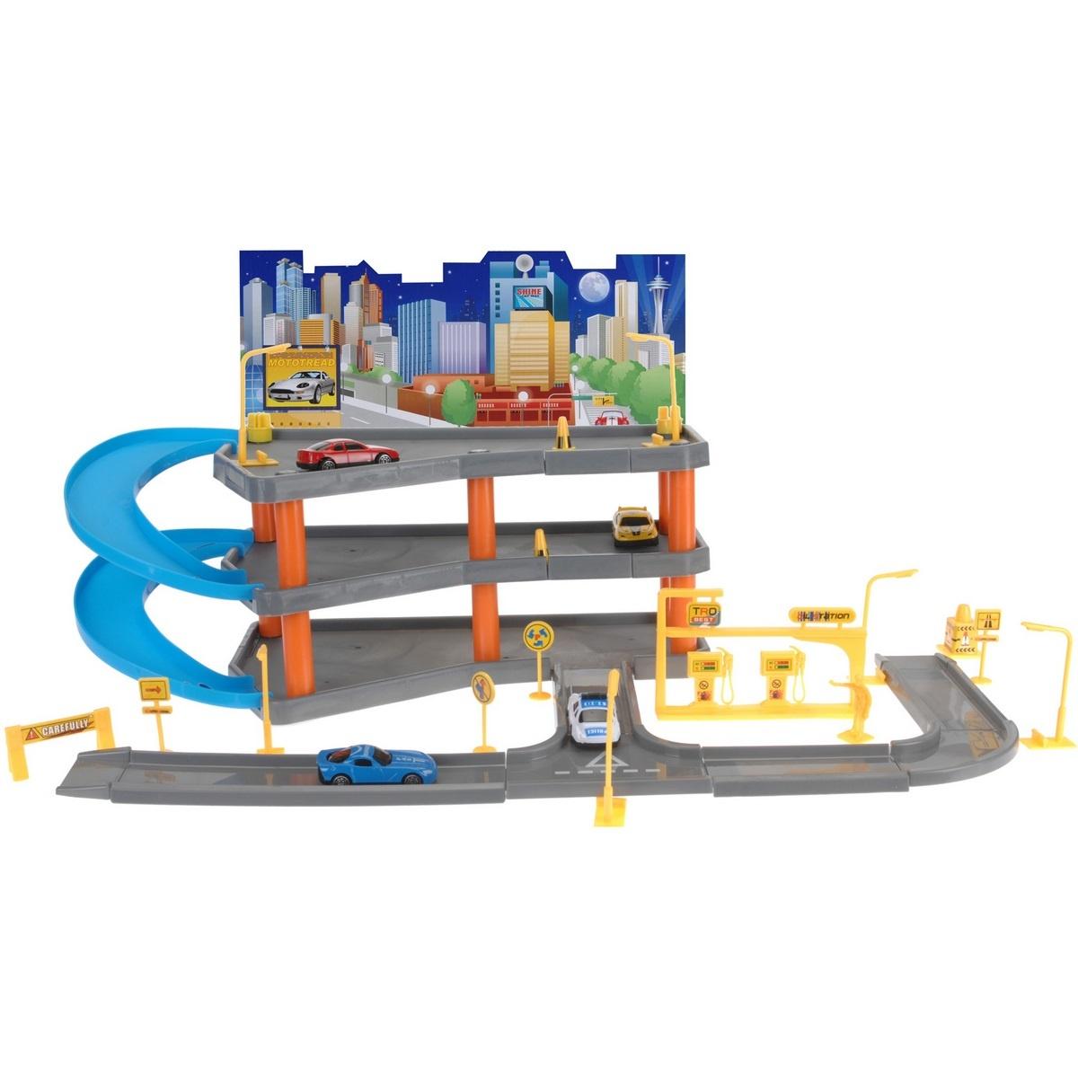 Dětský hrací set Big garage, 62 x 31 x 33 cm