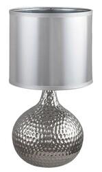 Rabalux 4978 Rozin stolní lampa, stříbrná