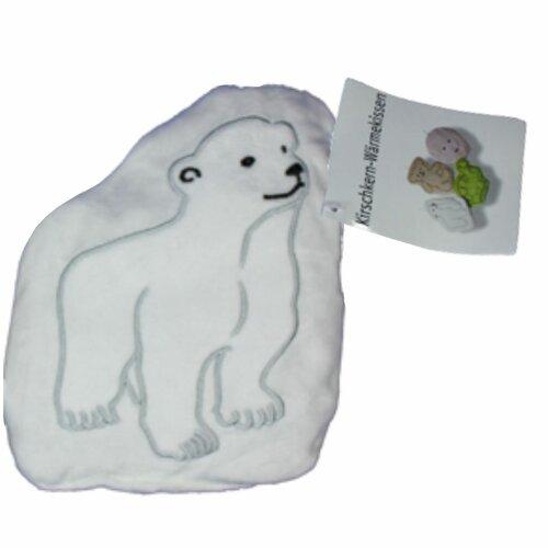 Nahrievací vankúšik s čerešňovými kôstkami Ľadový medveď