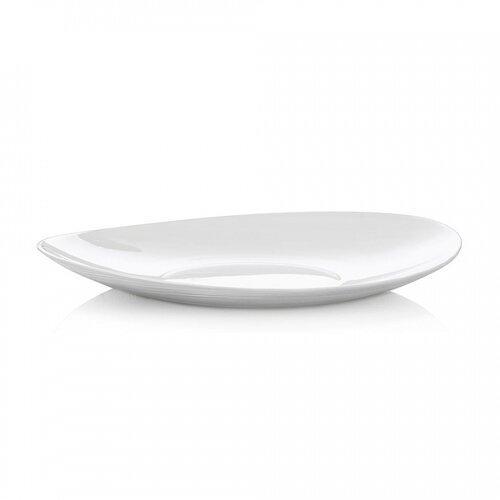 Bormioli Rocco Plytký tanier Prometeo 6 ks, biela