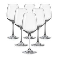 Crystalex Set 6 pahare pentru vin GISELLE, 455 ml