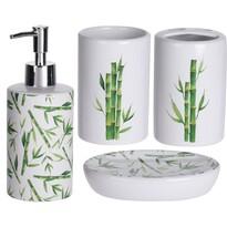 Koupelnová sada Dolomite Bamboo, 4 ks