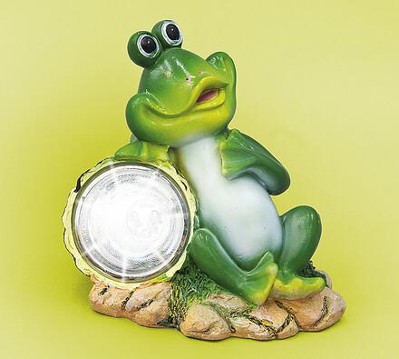 Solární osvětlení žába