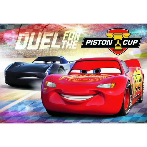 Trefl Puzzle Auta 3: Piston Cup, 100 dílků
