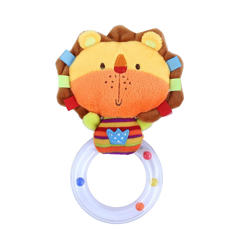 Baby Chrastítko plyšové Lev