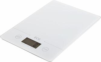 Cântar de bucătărie ECG KV 117 Slim, alb