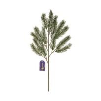 Zimowa zaśnieżona gałązka świerku, wys. 52 cm