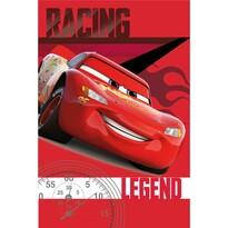 Jerry Fabrics takaró Cars Legend 010, 100 x 150 cm