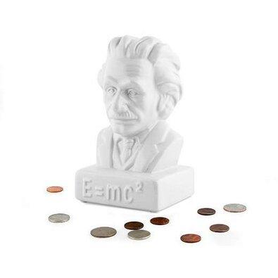 Kasička Einstein, bílá