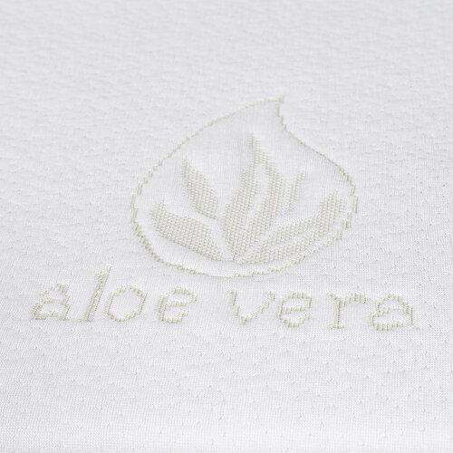 4Home Aloe Vera Chránič matrace s lemem, 200 x 200 cm + 30 cm
