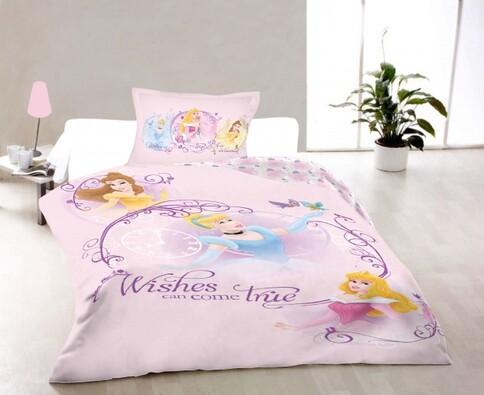 Dětské bavlněné povlečení Princess 4, 140 x 200 cm, 70 x 90 cm