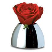 Váza Bulb 15 cm, stříbrná
