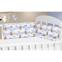 Ochraniacz do łóżeczka Misie, 28 x 60 cm