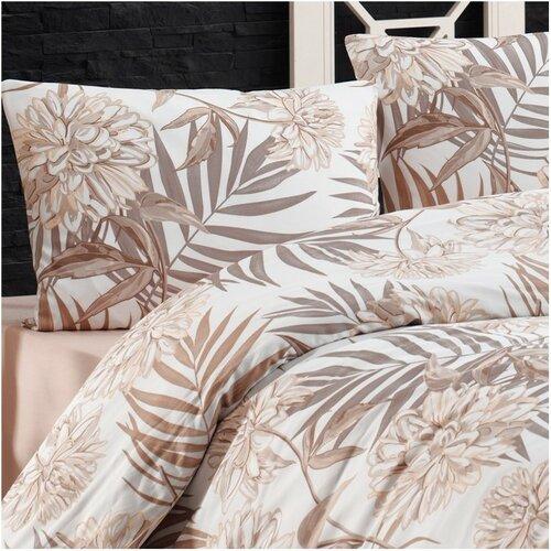 BedTex Amazing pamut ágynemű, barna, 140 x 200 cm, 70 x 90 cm