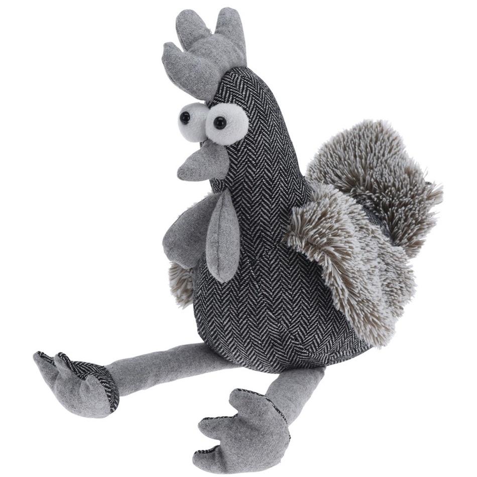 Koopman Dveřní zarážka Chicken, šedá