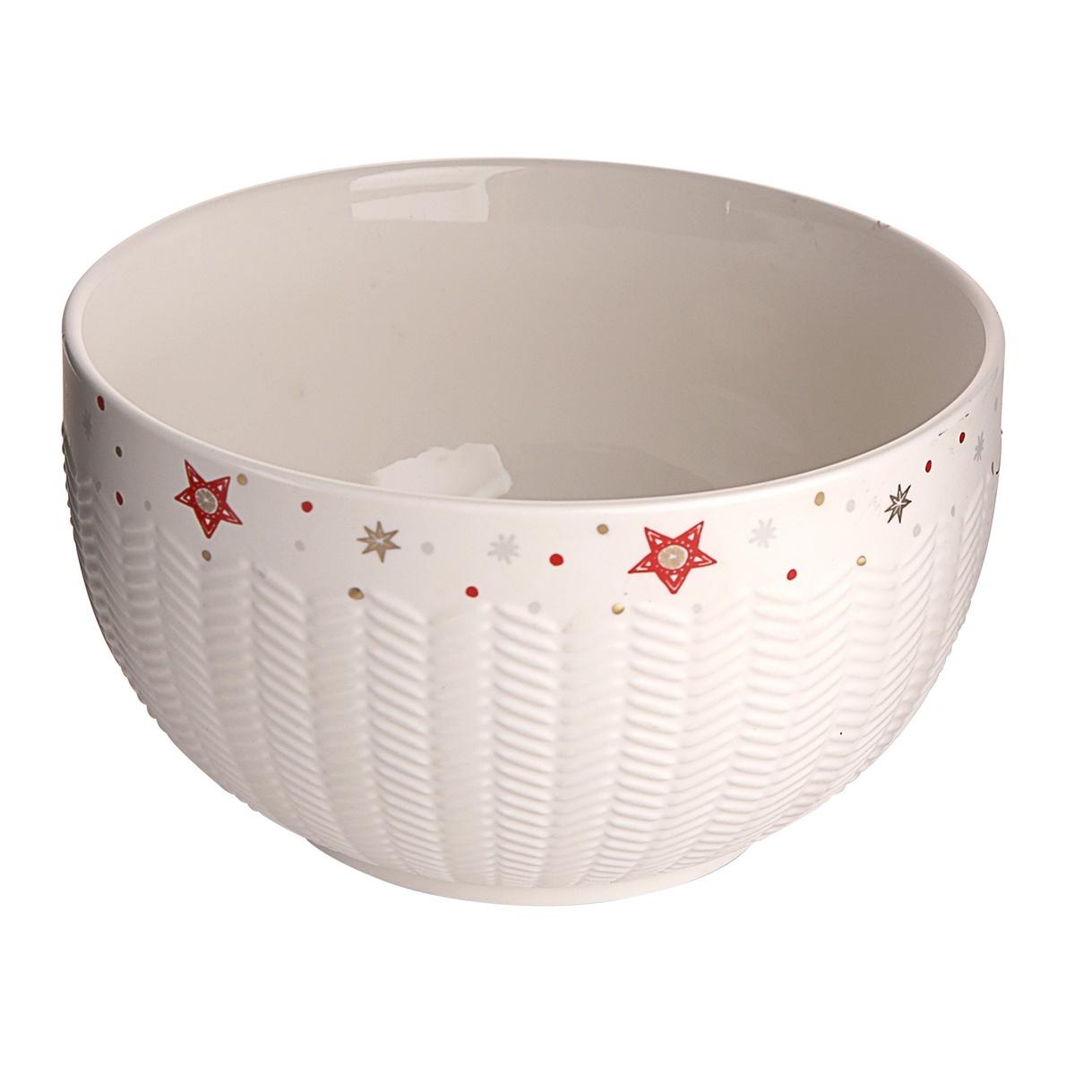 Altom Vánoční porcelánová miska Rudolf, 14 cm