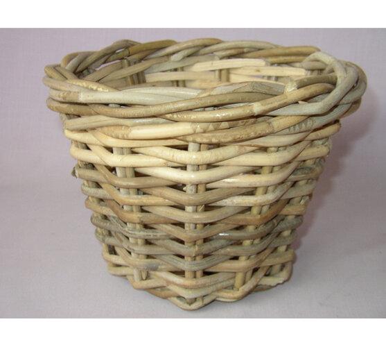 Ratanový košík Kooboo kulatý, pr. 25 cm