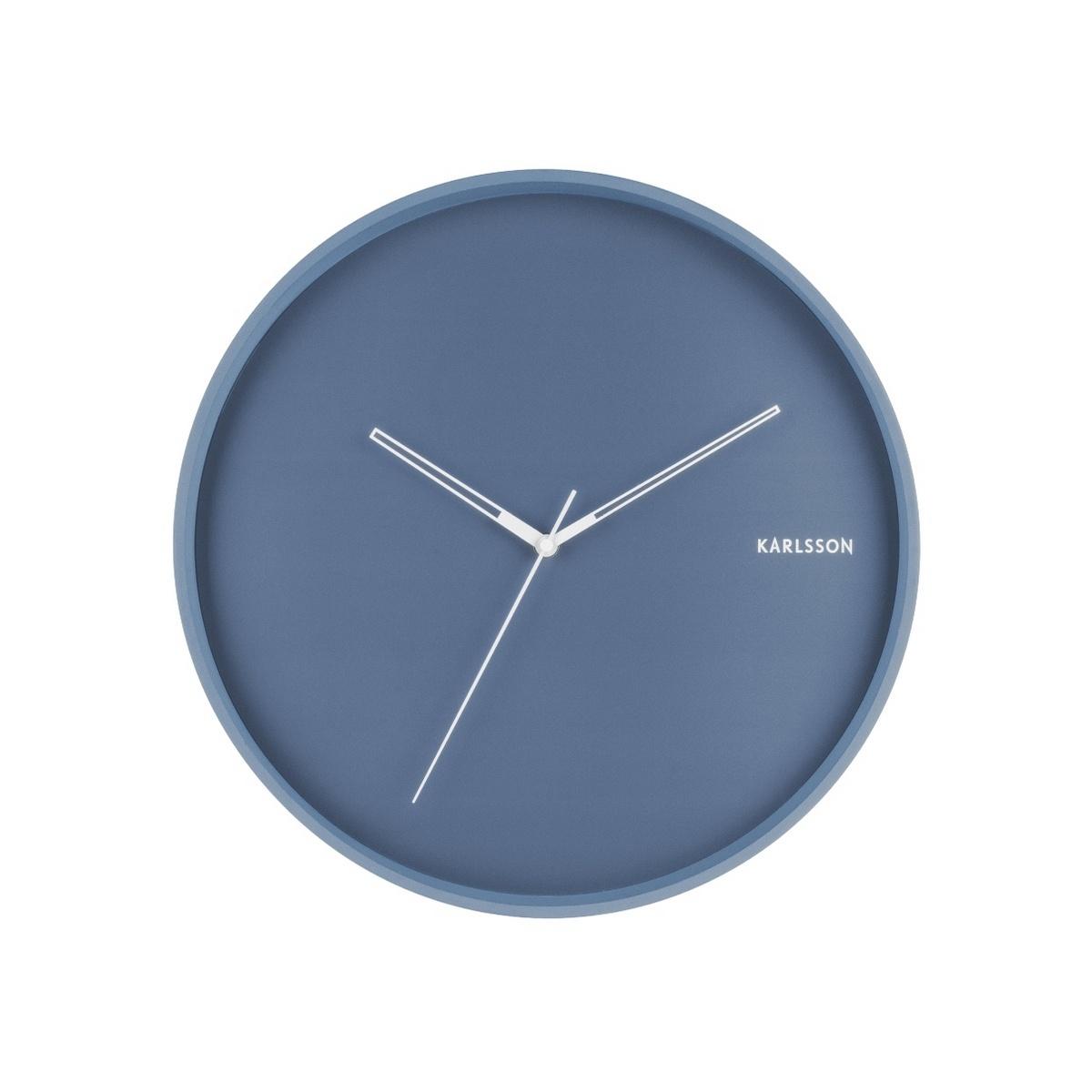 Karlsson 5807BL Dizajnové nástenné hodiny pr. 40 cm