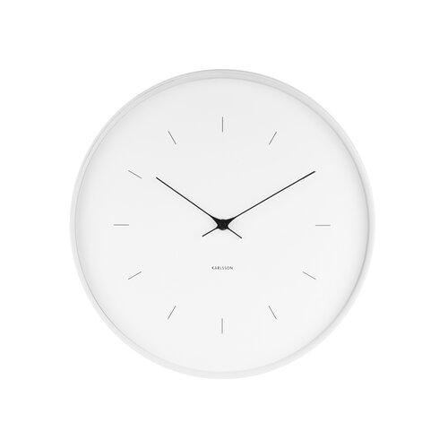 Karlsson KA5707WH Dizajnové nástenné hodiny, 37 cm