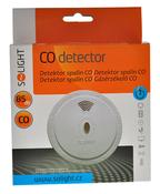 Detektor spalin CO, bílá, 85dB, Solight, bílá