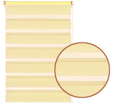 Roleta easyfix dvojitá krémová, 75 x 150 cm