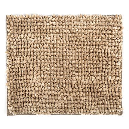 Mata łazienkowa Ella micro beżowa, 40 x 50 cm
