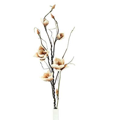 Umělá květina magnolie hnědá 125 cm