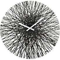 Koziol Nástenné hodiny Silk, čierna