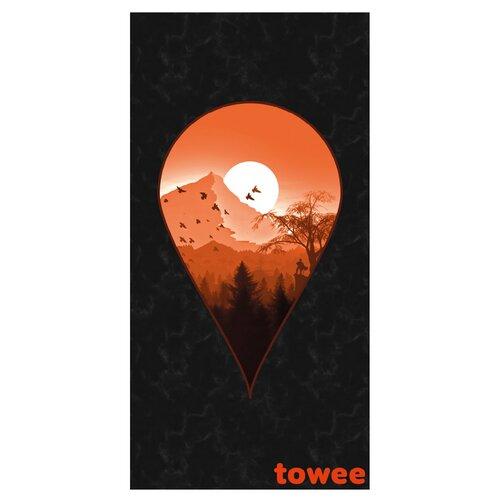 Towee NEXT DESTINATION gyorsan száradó törölköző, 80 x 160 cm