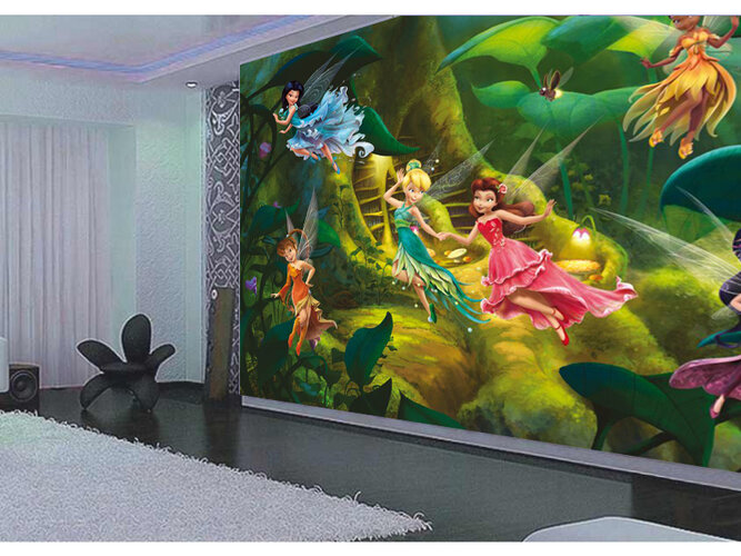 Fototapeta dziecięca DISNEY Fairies 360 x 270 cm