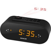 Sencor SRC 3100 B Radio cu ceas cu proiecție, negru