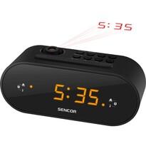 Sencor SRC 3100 B Rádiós ébresztőóra kivetítő funkcióval, fekete