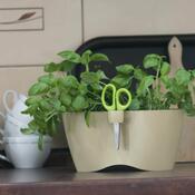 Květináč na bylinky Limes Dublo 2,3 l, béžová