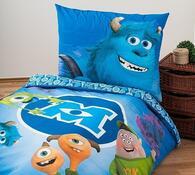 Dětské bavlněné povlečení Monsters, 140 x 200 cm, 70 x 90 cm