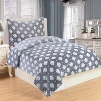 Lenjerie de pat Isabelle, din micro-pluș, 140 x 200 cm, 70 x 90 cm