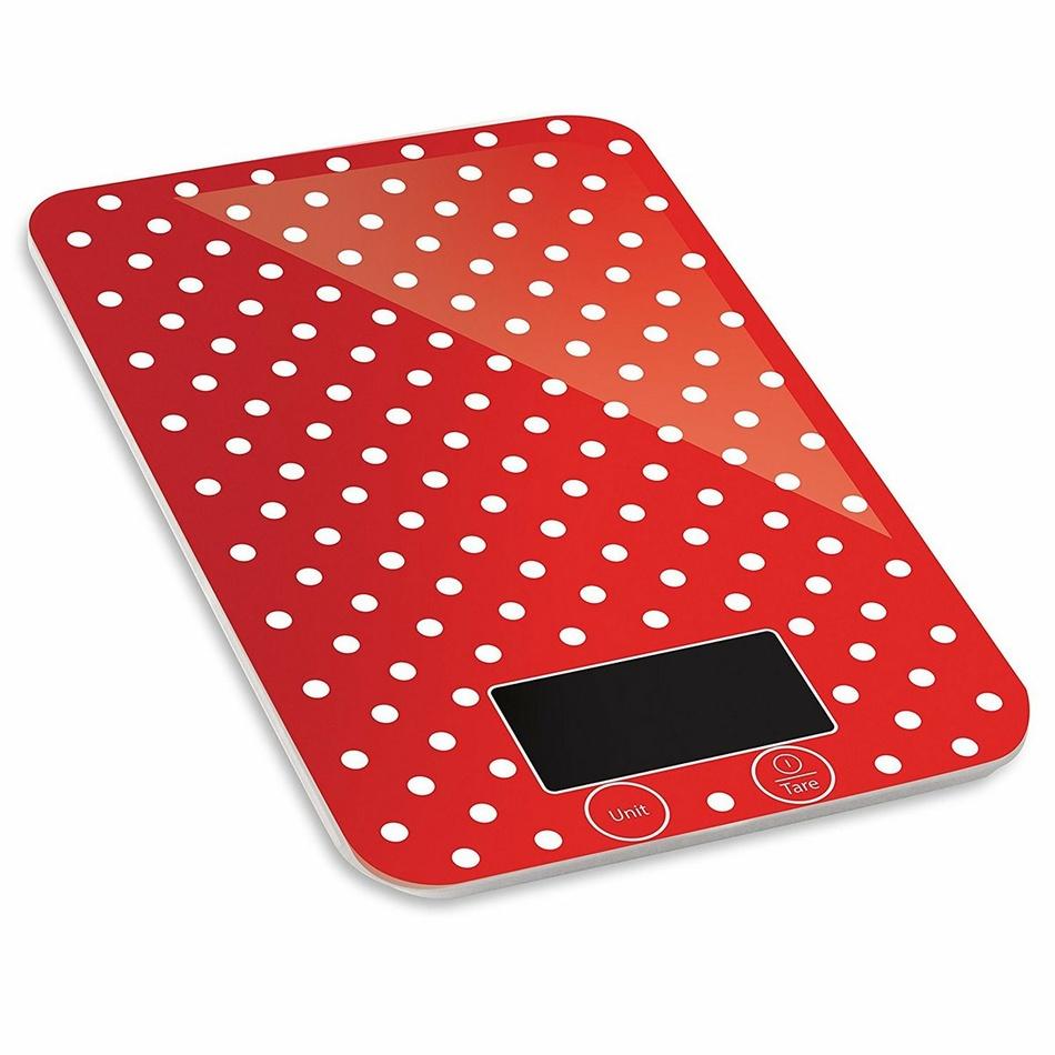 Kalorik EKS 1005 RWD Kuchynská váha Red Dots, 5 kg