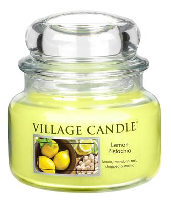 Village Candle Vonná svíčka Citrón a pistácie - Lemon Pistachio, 269 g