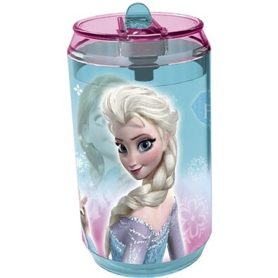 Banquet Fľaša so slamkou Ľadové kráľovstvo Frozen