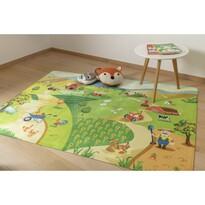 Dětský koberec Ultra Soft Farm, 90 x 130 cm