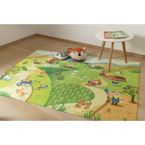 Detský koberec Ultra Soft Farm, 90 x 130 cm
