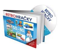 Retro Hračky 50.-80. léta, DVD a kniha, vícebarevná