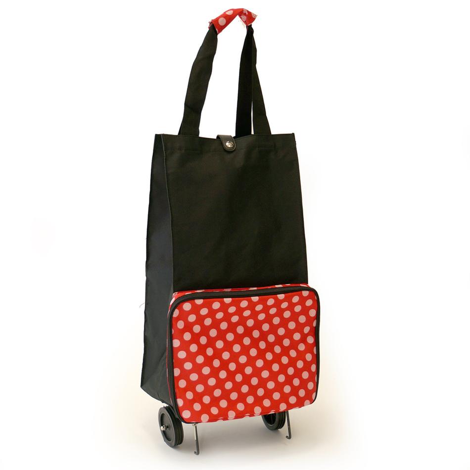 4Home nákupná taška Sára, červená