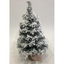 Choinka zaśnieżona w jucie Tiga, 50 cm