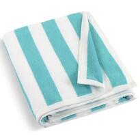 Ręcznik plażowy turkusowy, 100 x 150 cm