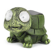 Solární světlo želva, zelená